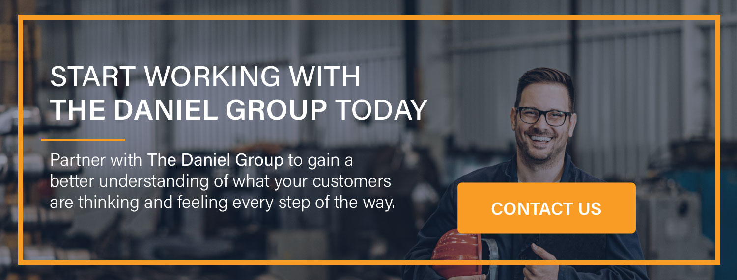 Start Working with The Daniel Group today