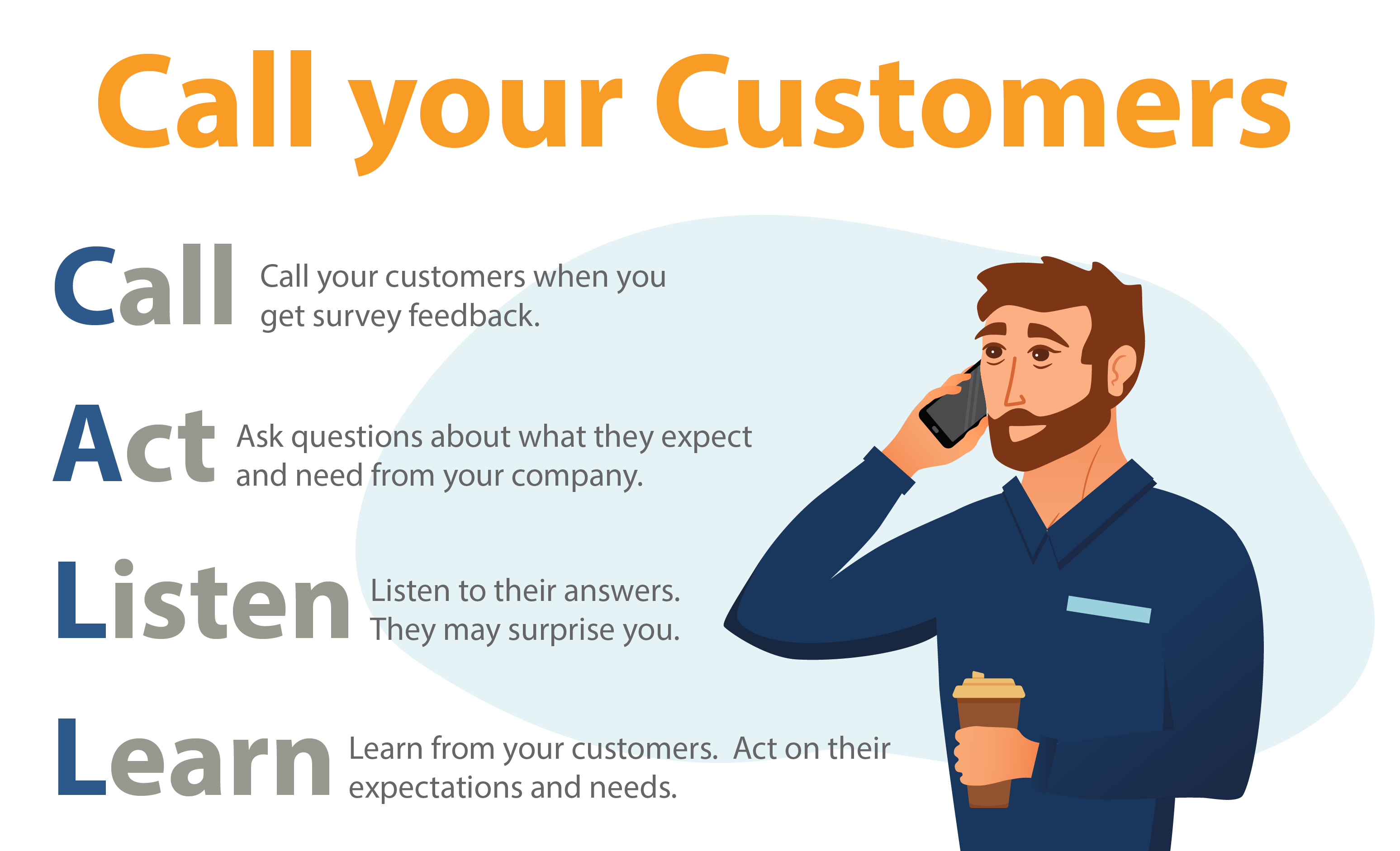 Strengthen Your B2B Customer Relationships - Call your customers
