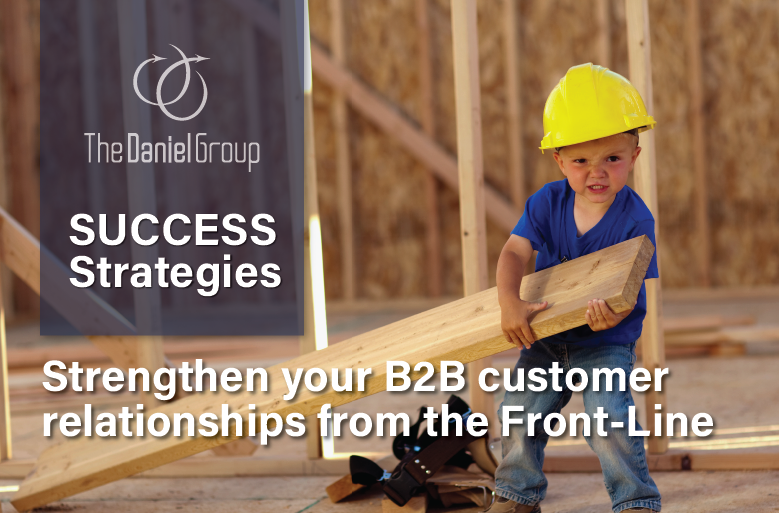 Strengthen your B2B customer relationships from the Front-Line