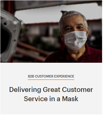 The Daniel Group Delivering Great Customer Service in a Mask