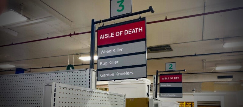Humor in Customer Experience | Aisle of Death and Aisle of Life