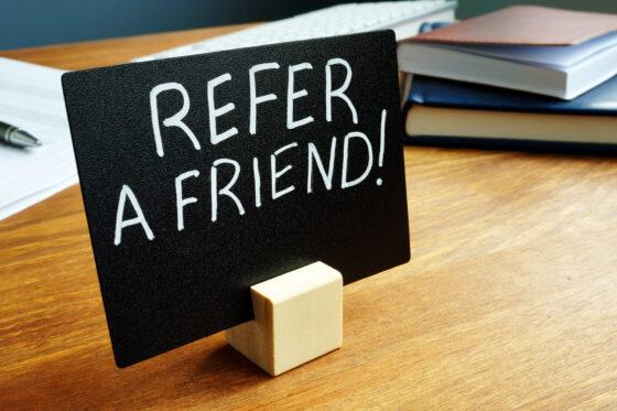 CX and Marketing: Happy Customers make referrals