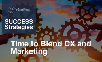 Blend CX and Marketing