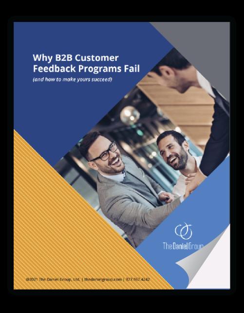 CX Ebook Why Customer Feedback Program Fail